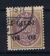 Iceland: 1902 Mi 34 B  Used - 1873-1918 Deense Afhankelijkheid