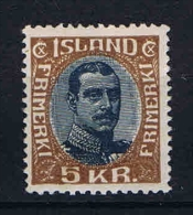 Iceland: 1920 Mi 98  MH/* - Ongebruikt