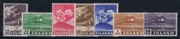 Iceland: 1948 Mi 247 - 253 MNH/** - 1944-... Republiek