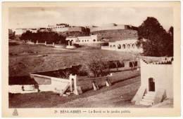 Algérie, Béni-Abbès, Le Bordj Et Le Jardin Public - Algérie