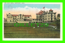 NANTUCKET, MA - CLIFF HOTEL - TRAVEL IN 1925 - TIPHNOR QUALITY VIEWS - - Nantucket