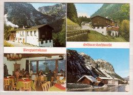 Bergwirtshaus Schwarzbachwacht , Ramsau - Berchtesgaden , Mehrbildkarte - Berchtesgaden