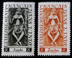 DIVINITE APSARA 1948 - NEUF ** - YT 236/37 - MI 281/82 - India (1892-1954)