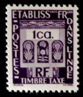 TIMBRE-TAXE 1948 - NEUF ** - YT 19 - MI 19 - India (1892-1954)