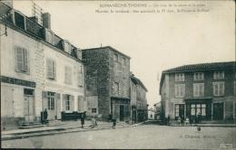 71 ROMANECHE THORINS / Un Coin De La Place Et La Poste / - Frankreich