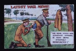 LATEST WAR NEWS - Humor