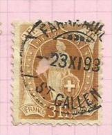 Suisse N°99 Cote 130 Euros - Gebraucht