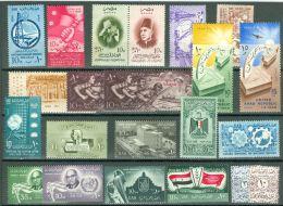 Egypt 1956-60 Lot Of  22 Stamps MNH** - Lot. 2639 - Égypte