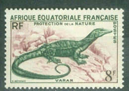 French Equatorial Africa 1955 Wildlife Protection MNH** - Lot. 2646 - Nuevos