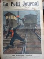 Le Petit Journal  Trains Tour Eiffel - Revues & Journaux