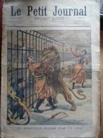 Le Petit Journal  Dompteur Cirque - Revues & Journaux