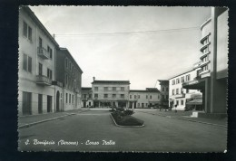 T1644 CARTOLINA VERONA S. BONIFACIO CORSO ITALIA  FG. V. - Verona