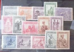 Ruanda-Urundi: S�rie n� 92/106 MLH * (Tb)