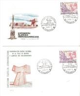 2 Cartas Con Matasello Commemorativo Diferente Dibujo. 1977 - 1931-Hoy: 2ª República - ... Juan Carlos I