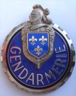 PLAQUE DESUETE MOTARD GENDARMERIE Ile De France - Police & Gendarmerie