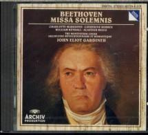 BEETHOVEN MISSA SOLEMNIS JOHN ELIOT GARDINER  ARCHIV NUOVO SIGILLATO - Classica