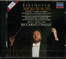 BEETHOVEN MESSE IN C MAJOR RSO BERLIN RICCARDO CHAILLY DECCA NUOVO SIGILLATO - Classica