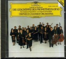 BEETHOVEN THE CREATURES OF PROMETEUS ORPHEUS CHAMBER ORCHESTRA DG NUOVO SIGILLATO - Klassik