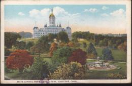 CPA - (Etats Unis) Hartford - State Capitol And Bushnell Park - Hartford