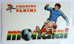 RARE AUTOCOLLANT PANINI FOOT - FOOTBALL MONDIAL 70's