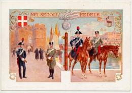 DIVISIONE CARABINIERI REALI DELL'EGEO - Regiments