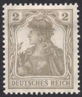 Germany, 2 Pf. 1918, Sc # 96, Mi # 102, MH - Unused Stamps