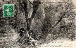 F593   Ardèche  Bois De Païolive  Bois De La Madone Petite Animation     A Circulé - France