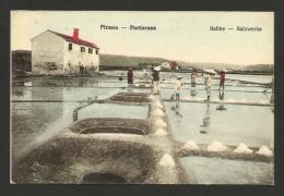 SLOVENIA - Pirano - Portorose - Saline - Riproduzione Cartolina D'epoca 209 - Slovenia