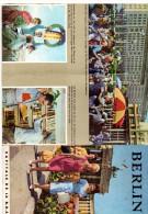 Revue Touristique, BERLIN, Capital De La R.D.A. 2 Fois 6 Pages De 10x21. - Vieux Papiers