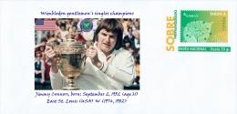SPAIN, 2014 Wimbledon Gentlemen's Singles Champions, Jimmy Connors, East St. Louis (USA) W (1974, 1982) Tennis - Tennis
