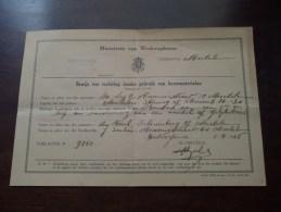 Ministerrie Van WEDEROPBOUW Gemeente Mechelen / Antwerpen 1948 ( Mod. 39-4 / Zie Photo Voor Details ) !! - Announcements