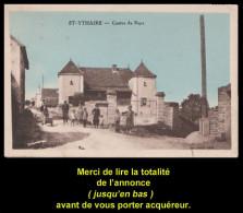Cp SAINT-YTHAIRE. Colorisée. Animation. Inconnue Sur Delcampe. Bon état. 1935. Voir Description Bien Détaillée. - Autres Communes