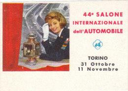 45° SALONE AUTOMOBILE TORINO 1963 - Erinnofilia