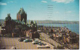 PC Quebec, P.Q. - View From The Citadel - 1969 (5740) - Québec - La Citadelle