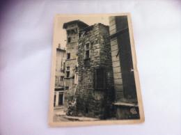 CARTE POSTALE ANCIENNE L'ARGENTIERE     LA TOUR DU PILORI - France