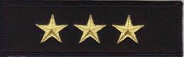 Police Slovaque- Slovakia,écussons Tissu-Patches,Rang Des Agents-Principal Lieutenant,Rank Of Officers-Senior Lieutenant - Police & Gendarmerie