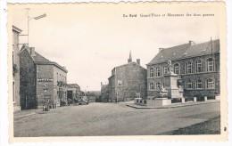 B-5075    LA REID : Grand Place Et Monument Des Deux Guerres - Theux