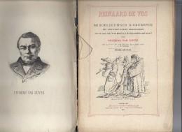Reinaard De Vos Middeleeuws Dierenepos In 17 Zangen, Bewerkt Door Prudens Van Duyse 1887 - Otros