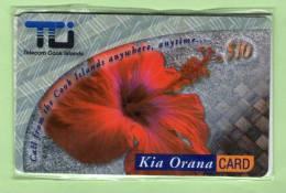 Cook Islands - Prepaid - 2000 Flowers $10 Hibiscus - Mint - Cook Islands