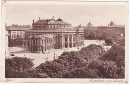 Austria Osterreich, Wien Vienna, Burgtheater Und Museen - Wien Mitte