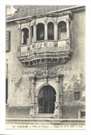 Cp, 68, Colmar, Place De L' Eglise, Loggia Du XVIè S., écrite - Colmar