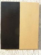 X BLACK GOLD ACRILICO SU TELA 25X30 FIRMA SUL RETRO - Acrilici