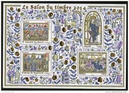 BLOC SAlON DU TIMBRE 2014  - LUXE** - Blocs & Feuillets