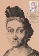 Germany Berlin 1987 Famous Women, 40pf Maria Sibylla Merian, Maximum Card - [5] Berlin