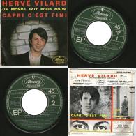 45 T EP HERVE VILARD - CAPRI C'EST FINI -1965 - Vinyl-Schallplatten