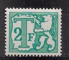 Belgie Belgique TX 67 A Dof/terne 0.25€ - Timbres