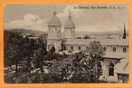 San Salvador El Salvador 1910 Postcard - Salvador