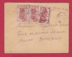 LOT 64 //   A O F  //  ENVELOPPE POUR PARIS  // - A.O.F. (1934-1959)
