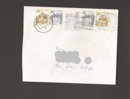 BRD B.u.S. Burgen Und Schlösser W 61 U. W63 Auf Bedarfsbrief V.1986 - Carnets