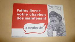Livraison De Charbon....CHARBON MAZOUT MOINARD...VICHY. - Gas, Garage, Oil